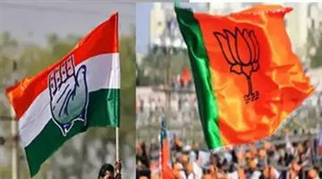 Khabar Odisha:Politics-odisha-bjp-workers-prepare-for-d-day-silence-but-hope-at-cong-hq