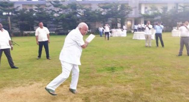 Khabar Odisha:Politics-odisha-bjp-karnataka-president-bs-yeddyurappa-cricket-bjp-mla-ramada-hotel-bengaluru