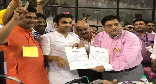 Khabar Odisha:Politics-odisha-east-delhi-lok-sabha-seat-gautam-gambhir-won