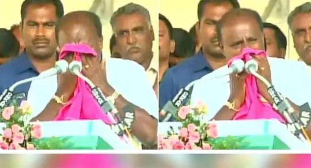 Khabar Odisha:Politics-odisha-hd-kumaraswamy-crying-in-election-rally-karnataka-lok-sabha-elections-2019