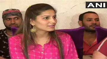 Khabar Odisha:Politics-odisha-i-have-not-joined-the-congress-party-says-haryanavi-dancer-sapna-chaudhary