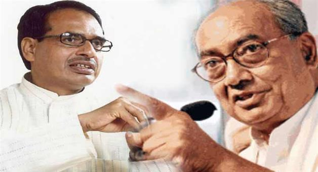Khabar Odisha:Politics-odisha-if-bjp-contest-shivraj-singh-against-digvijay-singh-on-bhopal-parliament-seat