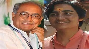 Khabar Odisha:Politics-odisha-sadhvi-pragya-may-contest-ls-polls-from-bhopal-against-digvijay-says-sources