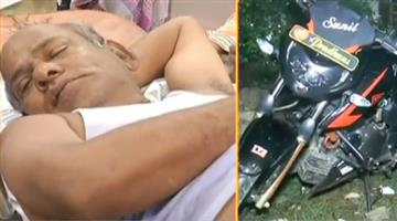 Khabar Odisha:Pradeep-maharathy-attacks-on-flying-squad-team-at-pipili