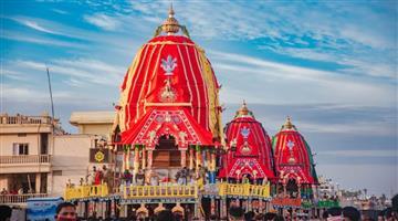 Khabar Odisha:Preparation-of-Bahuda-Yatra--the-three-chariots-turned-south
