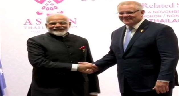 Khabar Odisha:Prime-Minister-Narendra-Modi-and-Australian-Prime-Minister-Scott-Morrison-will-attend-the-Virtual-Summit-to-be-held-today