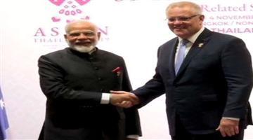 Khabar Odisha:Prime-Minister-Narendra-Modi-and-Australian-Prime-Minister-Scott-Morrison-will-attend-the-Virtual-Summit-to-be-held-today