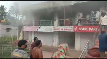 Khabar Odisha:Propoties-worth-lakh-of-rupees-charred-to-ashes-in-fire-mishap