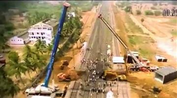 Khabar Odisha:Railway-Minister-Piyush-Goyel-Indian-Railways-built-a-subway-in-a-record-time-of-less-than-5-hours-under-a-railway-crossing-in-Andhra-Pradesh