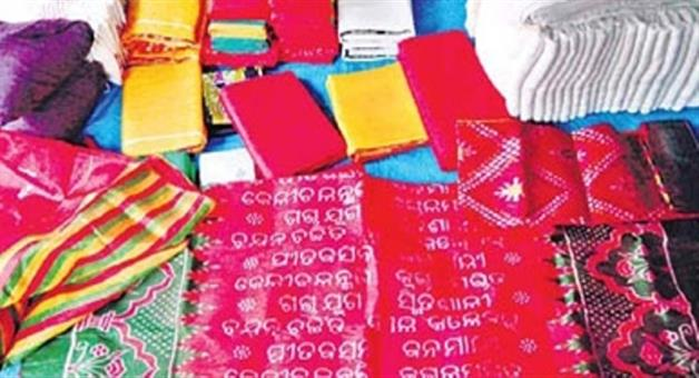 Khabar Odisha:Rout-pada-artisan-prepare-khandua-for-dating-of-puri
