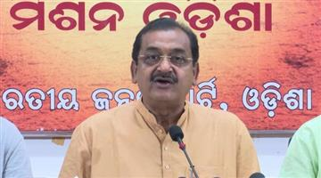 Khabar Odisha:Samir-Mohanty-Press-Meet-On-Covid-Situation-of-Odisha