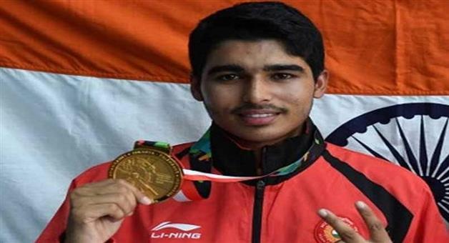 Khabar Odisha:Saurabh-Chaudhary-Wins-Gold-Medal-In-Asian-Airgun-Championship