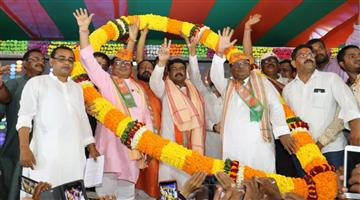 Khabar Odisha:Several-leaders-from-different-parties-joined-BJP-in-presence-of-Union-Minister-Dharmendra-Pradhan