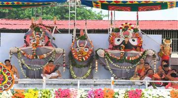 Khabar Odisha:Snan-purnima-rituals-going-on