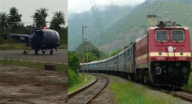 Khabar Odisha:Spcial-train-for-Titili-Affected-People-in-Odisha