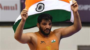 Khabar Odisha:Sports-Asian-wrestling-championships-Sunil-Kumar-wins-India-first-Greco-roman-gold-in-27-years