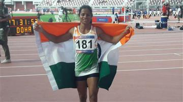Khabar Odisha:Sports-Athletics-odisha-Dutee-Chand-clinches-200m-bronze-in-Asian-Athletics-Championships