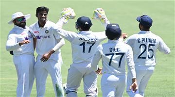 Khabar Odisha:Sports-Australia-vs-India-4th-Test-at-Brisben-Day-2-1st-Session--Australia-opt-to-bat