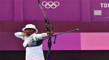 Khabar Odisha:Sports-Deepika-Kumari-qualifies-for-Quarter-Finals-beats-Ksenia-Perova-6-5