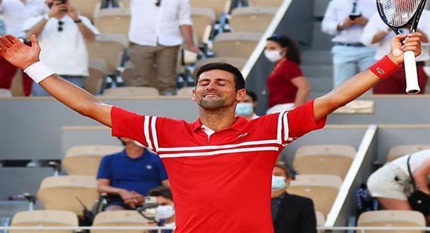 Khabar Odisha:Sports-French-Open-2021-Novak-Djokovic-beats-Stefanos-Tsitsipas-to-win-his-19th-Grand-Slam-title