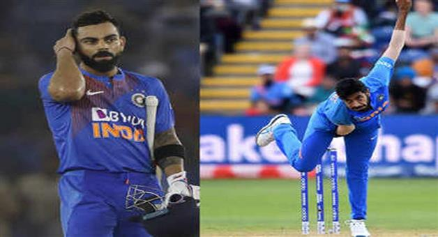 Khabar Odisha:Sports-ICC-ODI-ranking-Virat-Kohli-Jasprit-Bumrah-maintain-top-position-in-ICC-rankings