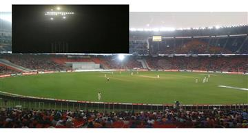 Khabar Odisha:Sports-LED-lights-off-Motera-stadium-led-lights-flood-lights-led-lights-Narendra-Modi-stadium
