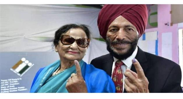 Khabar Odisha:Sports-Milkha-Singhs-wife-Nirmal-Kaur-dies-fighting-COVID-19