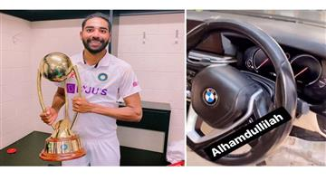 Khabar Odisha:Sports-Mohammed-Siraj-purchase-BMW-car-for-himself-after-returning-from-memorable-tour-of-Australia