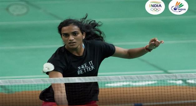 Khabar Odisha:Sports-PV-Sindhu-start-her-journey-with-victory-against-Isrieal-competitor-in-Group-match