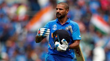 Khabar Odisha:Sports-Video-Shikhar-Dhawan-hit-the-nets-for-the-first--time-after-finger-injury