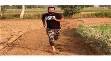 Khabar Odisha:Sports-cricket-Covid-19-team-India-running-practice-Md-Shami-his-farmhouse-in-village