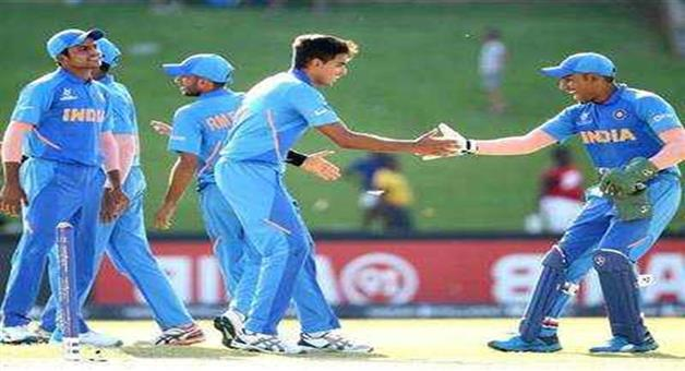 Khabar Odisha:Sports-cricket-India-beat-Sri-Lanka-by-90-runs-in-under-19-world-cup-in-South-Affrica