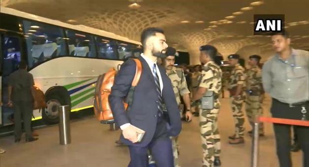 Khabar Odisha:Sports-cricket-Indian-cricket-team-departs-for-ICC-cricket-world-cup-2019