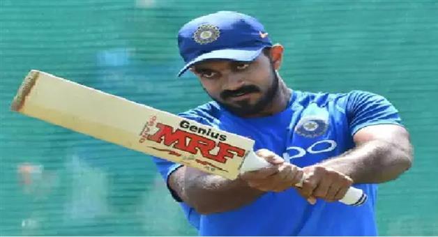 Khabar Odisha:Sports-cricket-Injury-scare-for-Vijay-Shankar-before-Indians-first-warm-up-of-ICC-World-Cup
