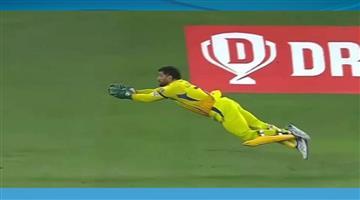Khabar Odisha:Sports-cricket-Mahendra-Singh-Dhoni-took-unbelievable-catch-of-Delhi-Capitals-captain-Shreyas-Iyer