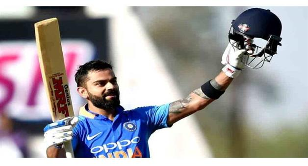 Khabar Odisha:Sports-cricket-Virat-Kohli-hits-43rd-century-equals-Sachin-Tendulkars-record-of-most-odi-100s-vs-a-team