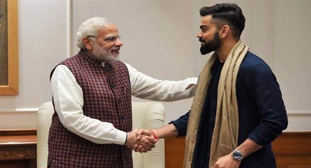 Khabar Odisha:Sports-cricket-odisha-virat-kohli-indian-cricket-team-captain-congratulate-pm-narendra-modi-lok-sabha-election-victory