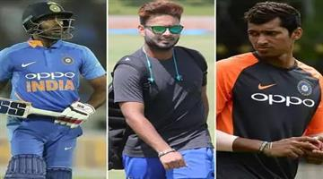 Khabar Odisha:Sports-cricket-odisha-ambati-rayudu-navdeep-saini-and-rishabh-pant-are-indias-standby-for-world-cup