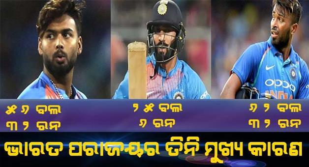 Khabar Odisha:Sports-cricket-odisha-team-India-destroy-the-dream-of-130-crore-people
