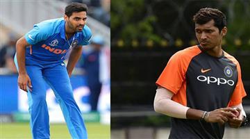 Khabar Odisha:Sports-cricket-odisha-bhuvneshwar-kumar-injury-navdeep-saini-joins-indian-team-net-bowler-cricket-world-cup