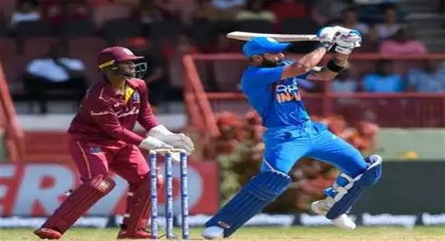 Khabar Odisha:Sports-cricket-odisha-india-and-west-indiesvirat-kohli-becomes-second-highest-indian-run-getter-in-odi