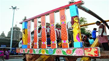 Khabar Odisha:Sri-Lingarajas-Rukuna-Rath-Yatra-will-be-without-devotees