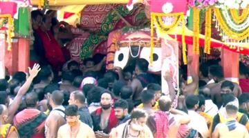 Khabar Odisha:Srijagannath-on-the-way-to-srimandira