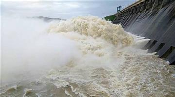 Khabar Odisha:State-Nine-gates-open-from-Hirakud-dam-due-to-water-level-increased-at-water-reservoir