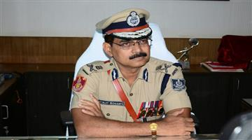 Khabar Odisha:State-Odisha-1988-batch-IPS-officer-Satyajit-Mohanty-assumes-charge-as-interim-DG-of-State-police
