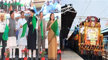 Khabar Odisha:State-Odisha-Bhubaneswar-Nayagarh-Daily-Sewa-Express-Flagged-Off-By-Dharmendra-Pradhan