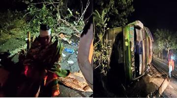 Khabar Odisha:State-Odisha-Bus-Accident--11injured
