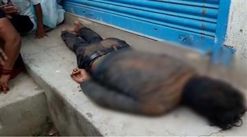 Khabar Odisha:State-Odisha-Deadbody-found-infront-of-Shop-Murder