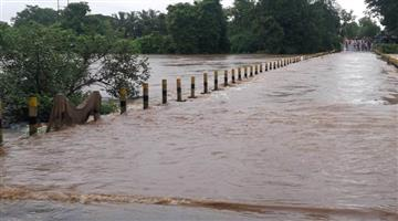 Khabar Odisha:State-Odisha-Heavy-rain-in-Malkangiri-district-create-panic-situation-may-come-flood
