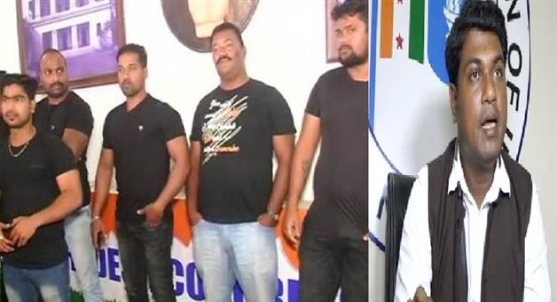 Khabar Odisha:State-Odisha-Itish-Pradhan-Byte-On-Congress-Bhaban-Bouncer